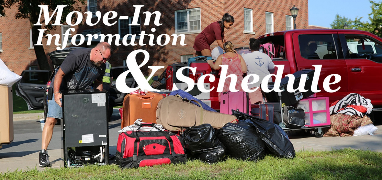 Move-In Information & Schedule