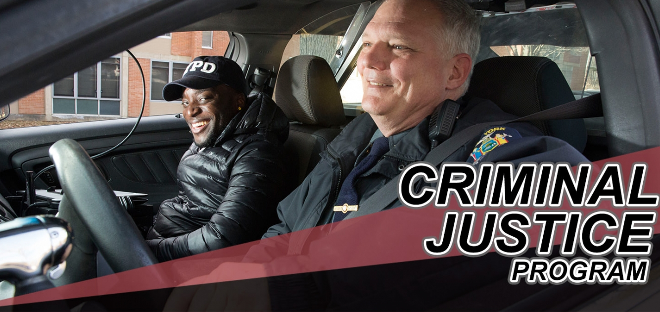 "Criminal Justice major Jamal Wiltshire on a UPD ""ride-along"""
