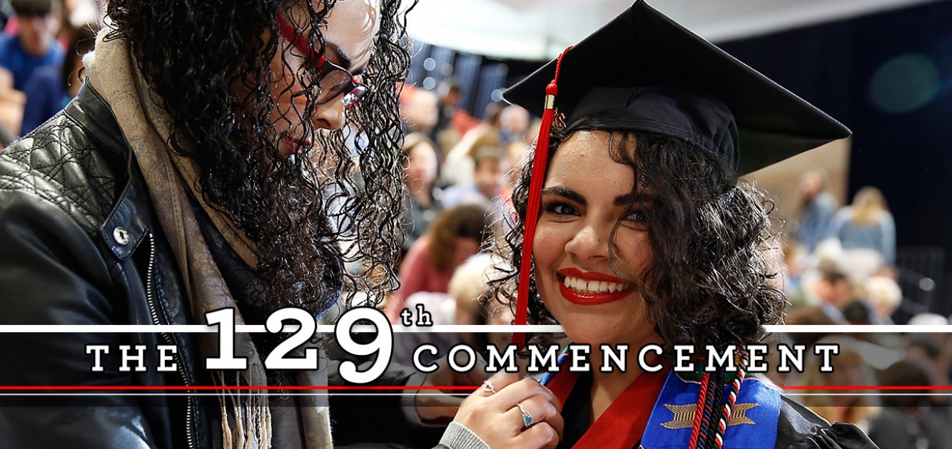129th Commencement Saturday, May 12