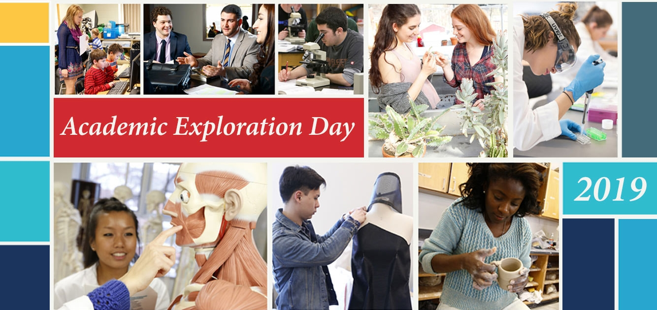 Academic Exploration Day photo collage