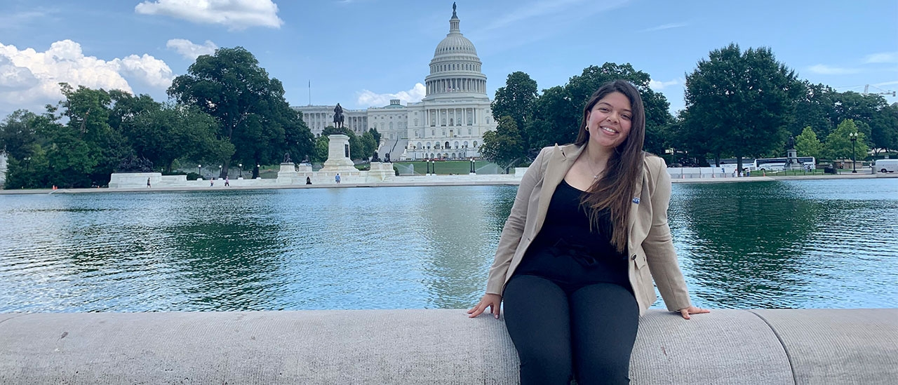 Catherin Flores in Washington, D.C.