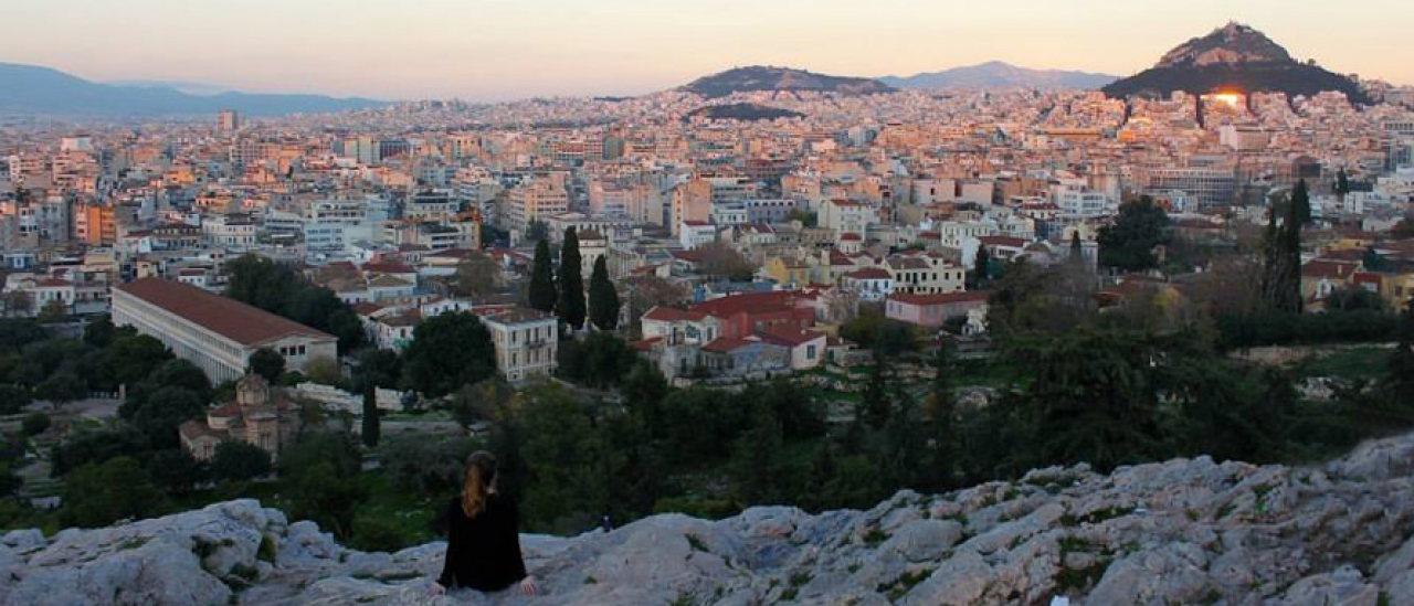 Danielle Kessler '16 in Athens, Greece