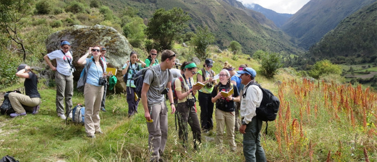 Summer 2014 biology field course in Peru