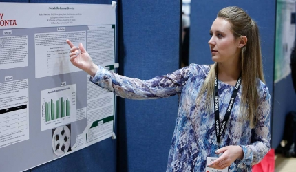 Emily Shaver discusses her dietetics poster project