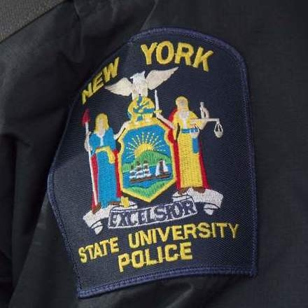 State University Police logo patch