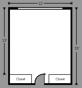 Golding, Littell, Tobey, and Wilber room floor plans