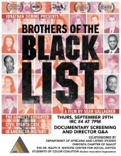 Brothers Of The Black List Poster