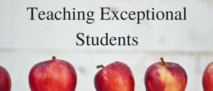 Teaching Exceptional Students