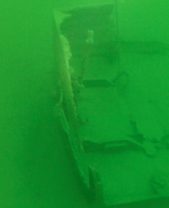 Underwater photo of the Ship Wreck