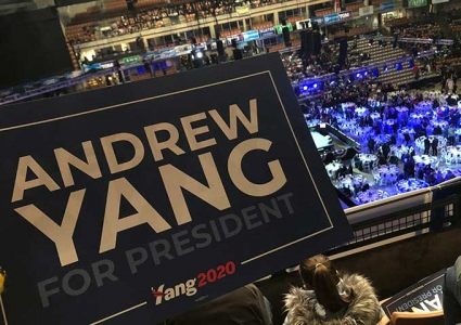 Andrew Yang Sign