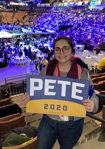Pete 2020 sign