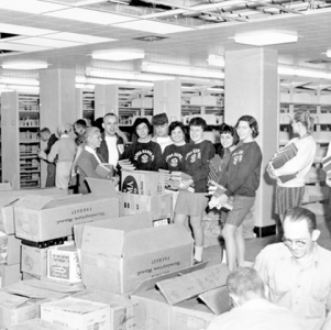 Library Moving-In Day, spring 1960