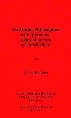 On Hindu Philosophies of Experience:  Cults, Mysticism, and Meditations Book Cover
