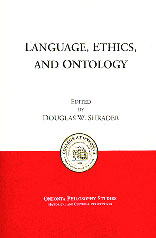 Language, Ethics, and Ontology Book Cover