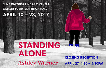 STANDING ALONE by Ashley Warner