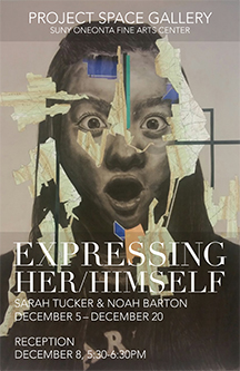 Sarah Tucker & Noah Barton: EXPRESSING Â HER/HIMSELF