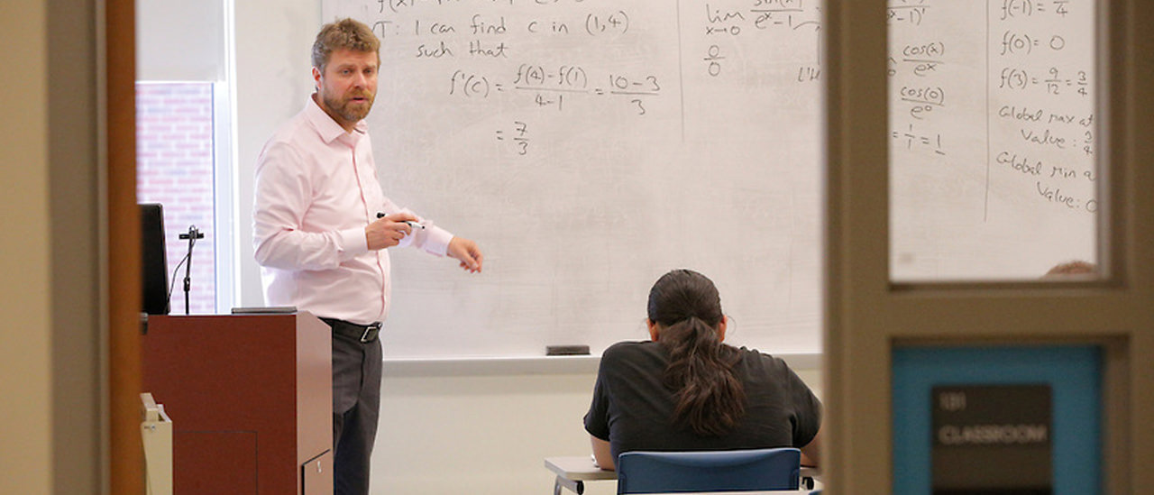 Toke Knudsen, associate professor of math