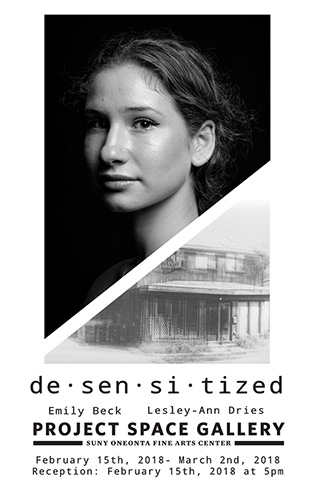 desensitized exhibition poster