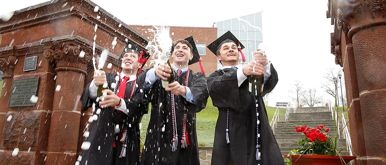 Grads celebrate at 2018 Commencement