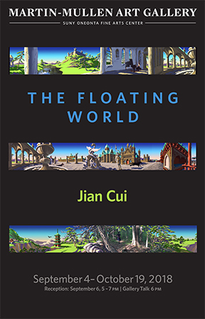 """The Floating World"" exhibition poster"