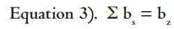 Equation 3 sigma b equals b