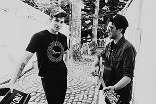 Scott Harris with Shawn Mendes