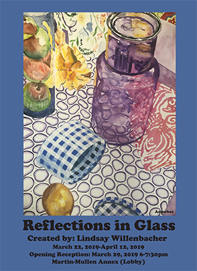 """Reflections in Glass""gallery poster"