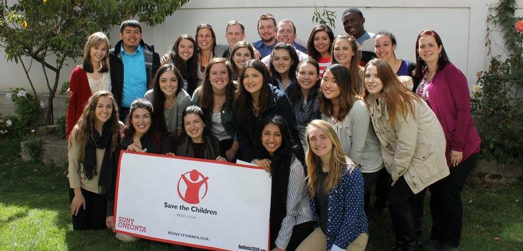 Partnership with Save the Children Bolivia