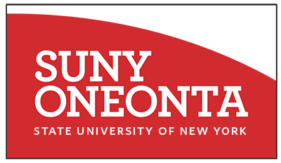 Back of SUNY Oneonta Business Card