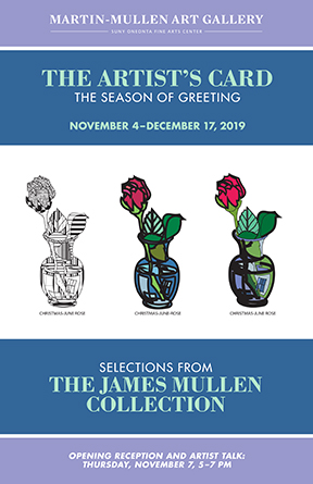 The Artist Card gallery poster for Jim Mullen