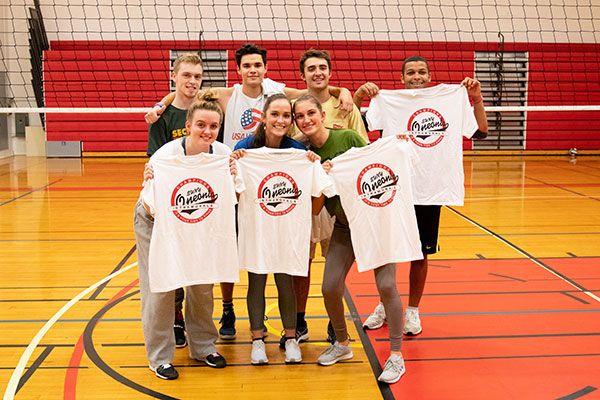 Volleyball A League Champs