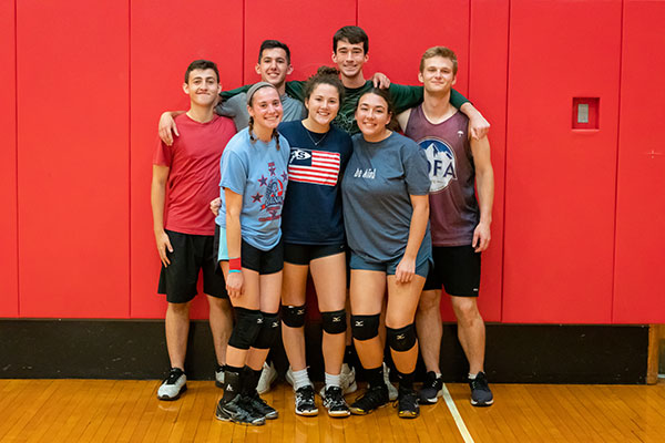 Volleyball B League Runner Up