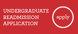 Undergraduate Readmission Application