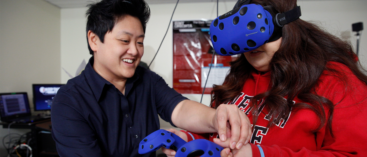 Using virtual reality for research