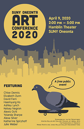 SUNY ART CONFERENCE 2020 POSTER